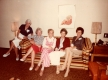 Slim Rhode, Marg Gillen, Laverne Juhlin, Evelyn Stewart, and Mary Fuller