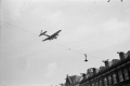 100th BG (H) aircraft low over Amsterdam
